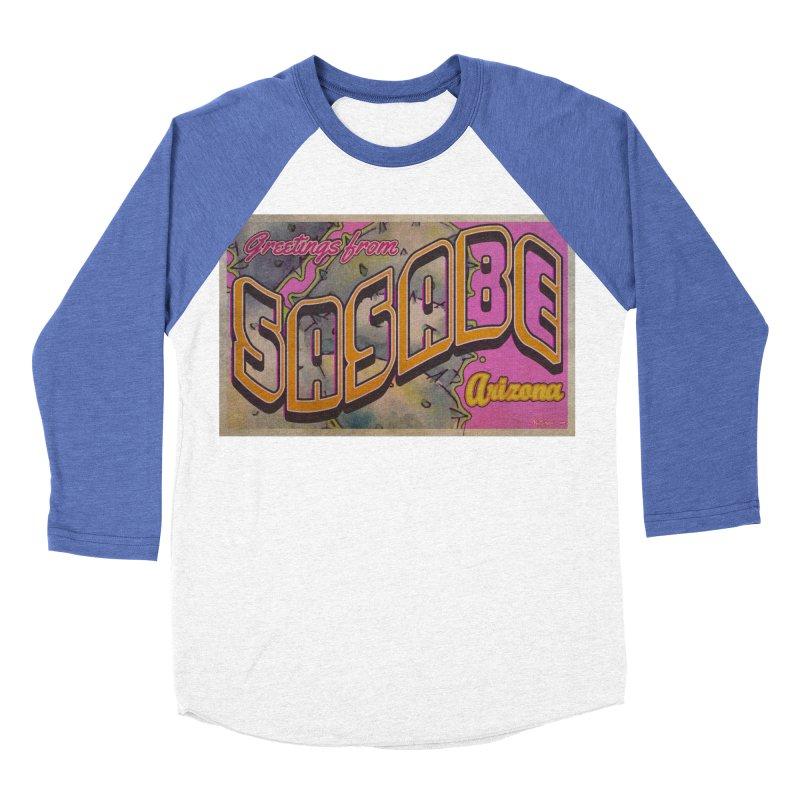 Sasabe, AZ. Women's Baseball Triblend Longsleeve T-Shirt by Nuttshaw Studios