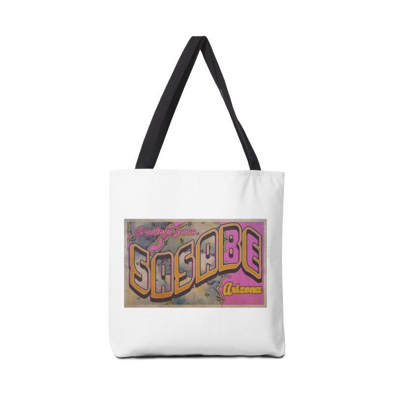 Sasabe, AZ. Accessories Tote Bag Bag by Nuttshaw Studios