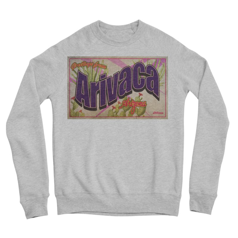 Arivaca, AZ. Women's Sponge Fleece Sweatshirt by Nuttshaw Studios