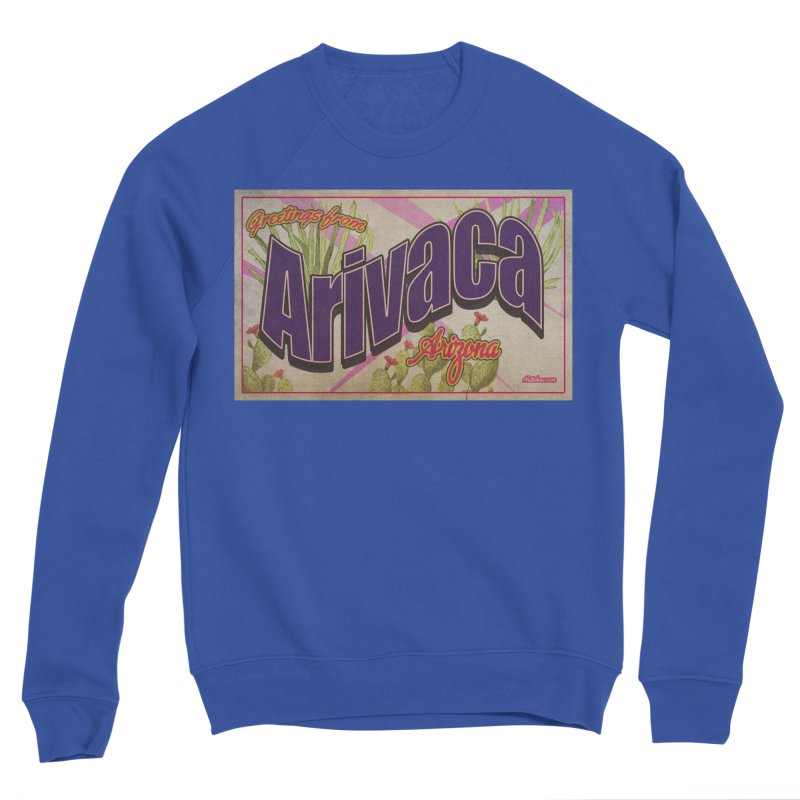 Arivaca, AZ. Men's Sponge Fleece Sweatshirt by Nuttshaw Studios