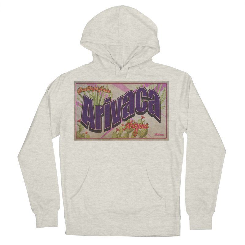 Arivaca, AZ. Men's French Terry Pullover Hoody by Nuttshaw Studios