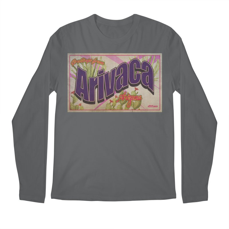 Arivaca, AZ. Men's Regular Longsleeve T-Shirt by Nuttshaw Studios