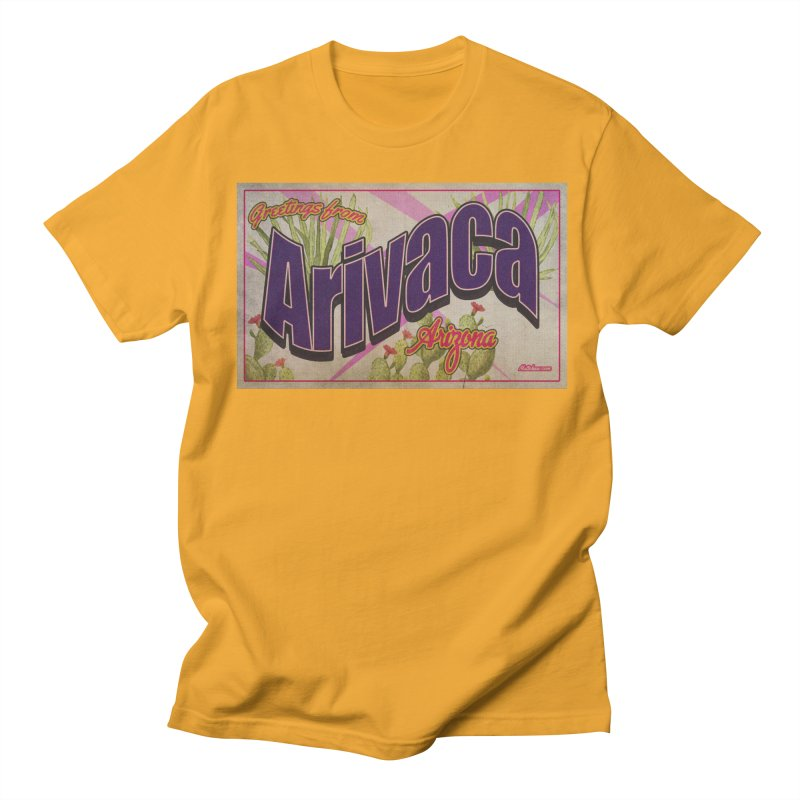 Arivaca, AZ. Men's Regular T-Shirt by Nuttshaw Studios