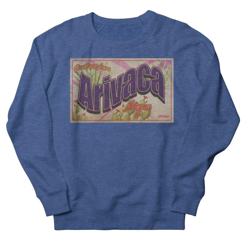 Arivaca, AZ. Women's French Terry Sweatshirt by Nuttshaw Studios