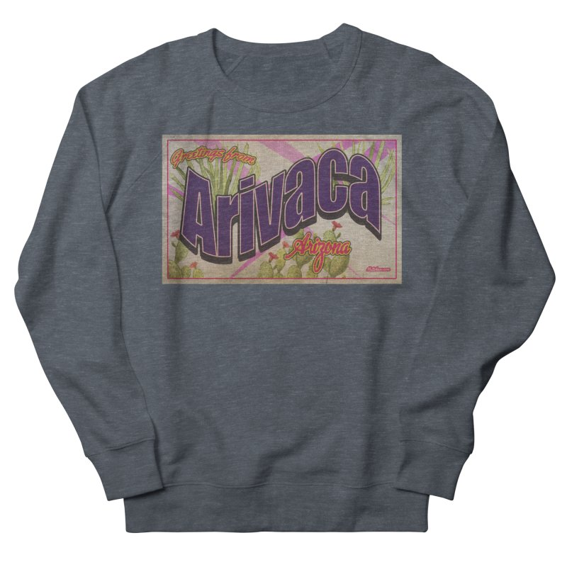 Arivaca, AZ. Women's French Terry Sweatshirt by Nuttshaw Studios