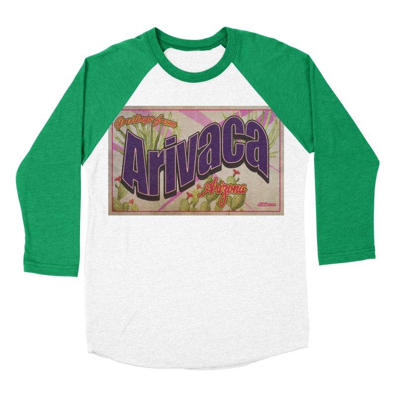 Arivaca, AZ. Women's Baseball Triblend Longsleeve T-Shirt by Nuttshaw Studios
