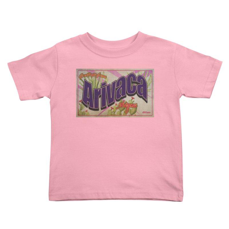 Arivaca, AZ. Kids Toddler T-Shirt by Nuttshaw Studios