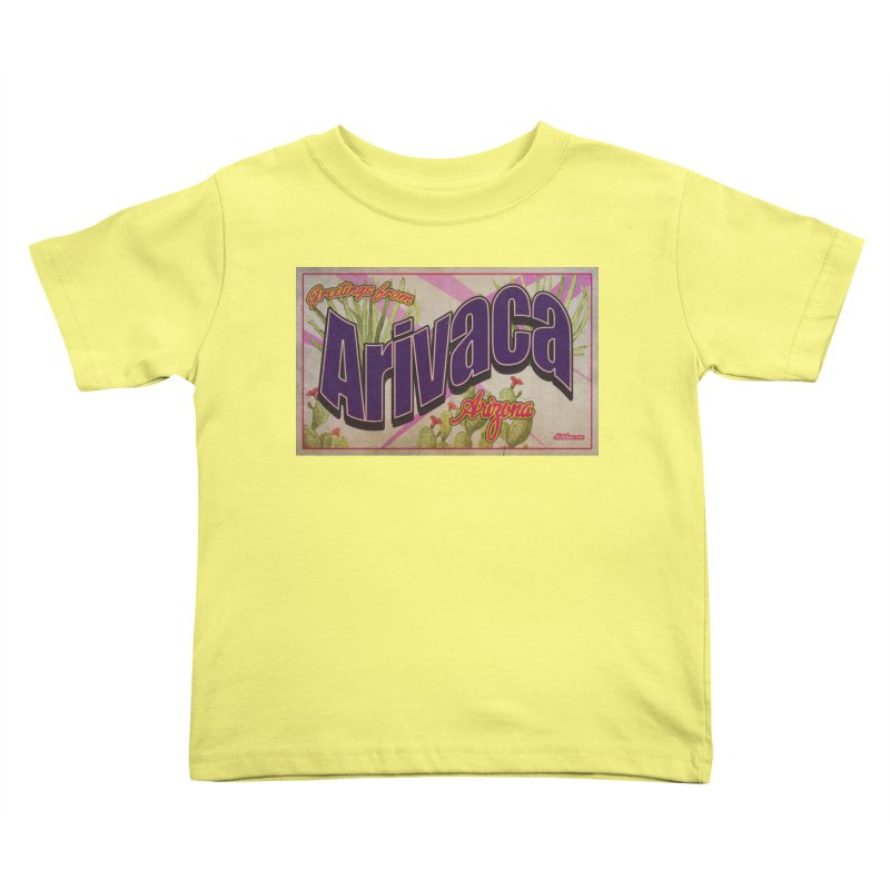 Arivaca, AZ. Kids Toddler T-Shirt by Nuttshaw Studios