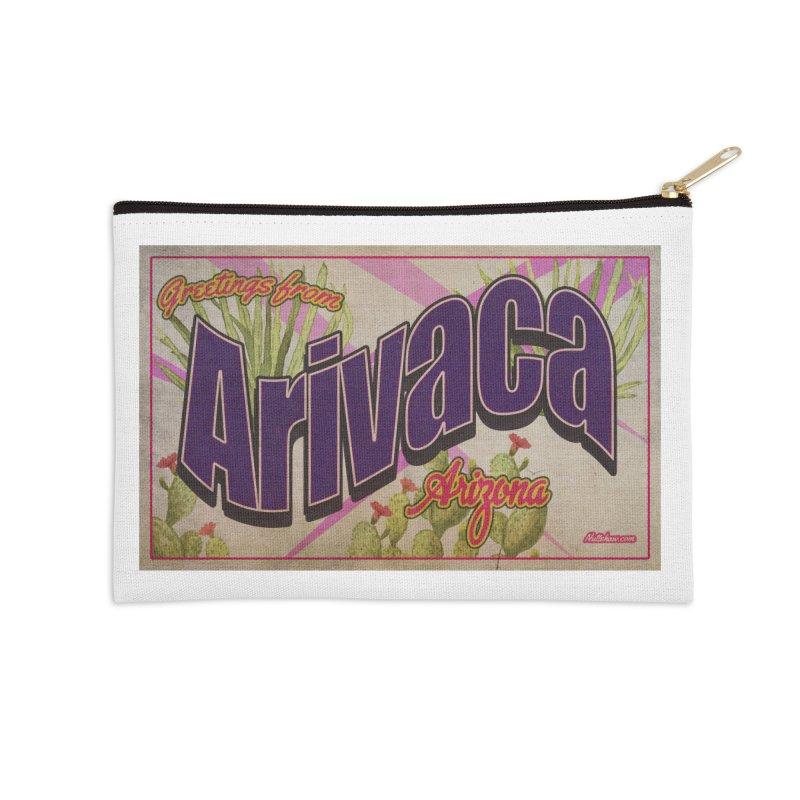Arivaca, AZ. Accessories Zip Pouch by Nuttshaw Studios
