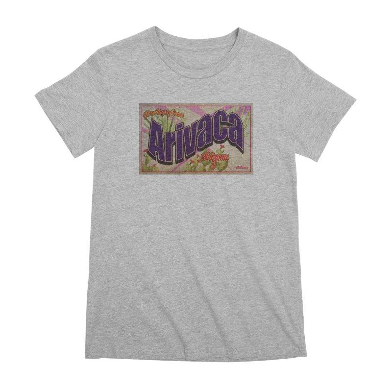 Arivaca, AZ. Women's Premium T-Shirt by Nuttshaw Studios