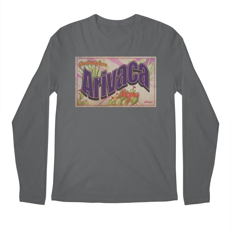 Arivaca, AZ. Men's Longsleeve T-Shirt by Nuttshaw Studios