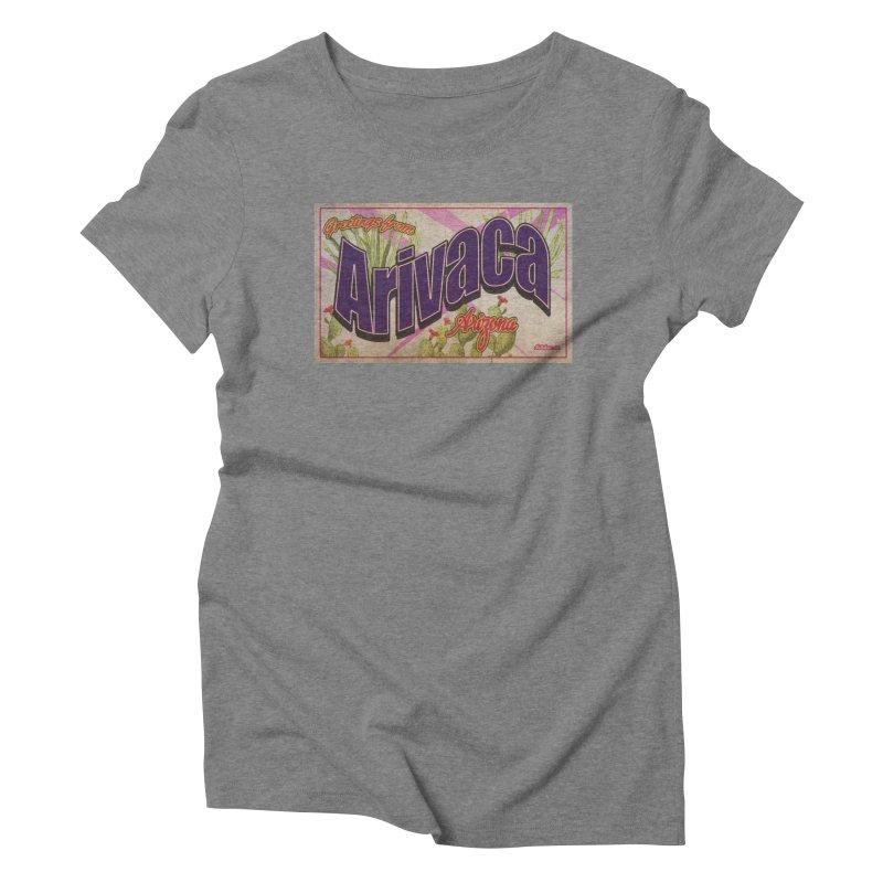 Arivaca, AZ. Women's Triblend T-Shirt by Nuttshaw Studios