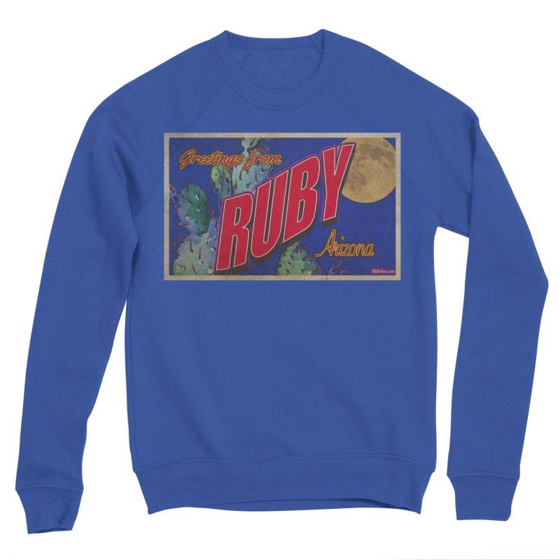 Ruby, AZ Men's Sponge Fleece Sweatshirt by Nuttshaw Studios