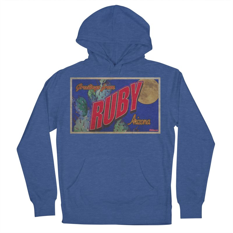 Ruby, AZ Women's French Terry Pullover Hoody by Nuttshaw Studios