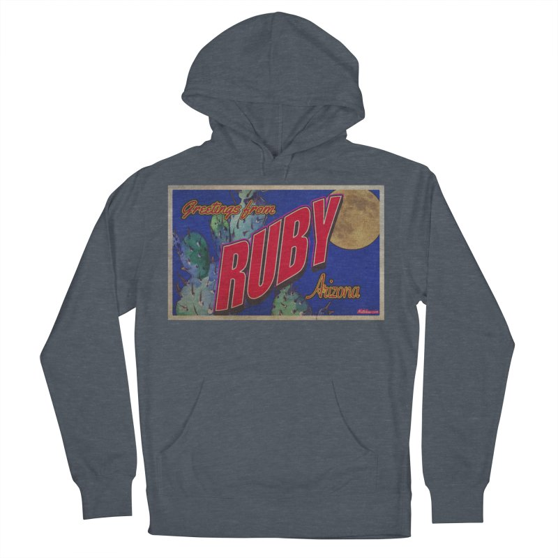 Ruby, AZ Men's French Terry Pullover Hoody by Nuttshaw Studios