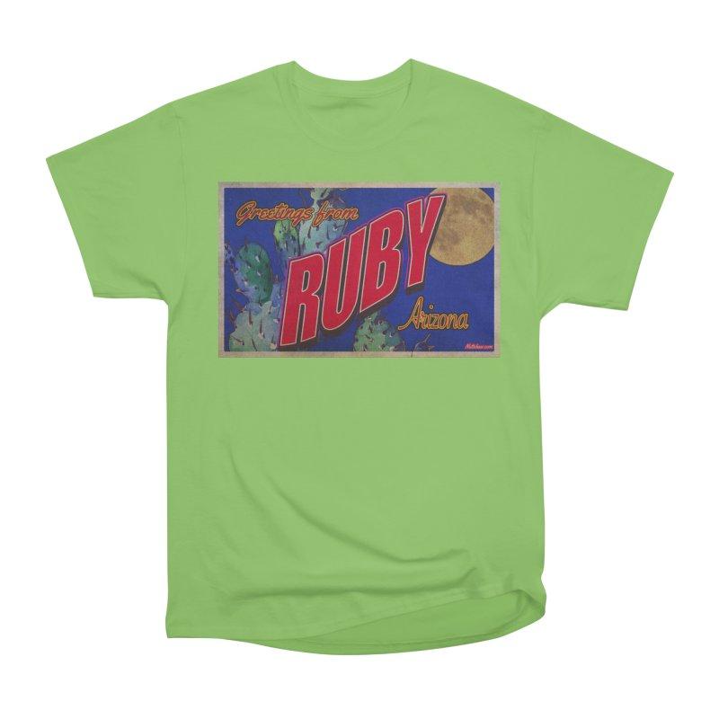 Ruby, AZ Men's Heavyweight T-Shirt by Nuttshaw Studios