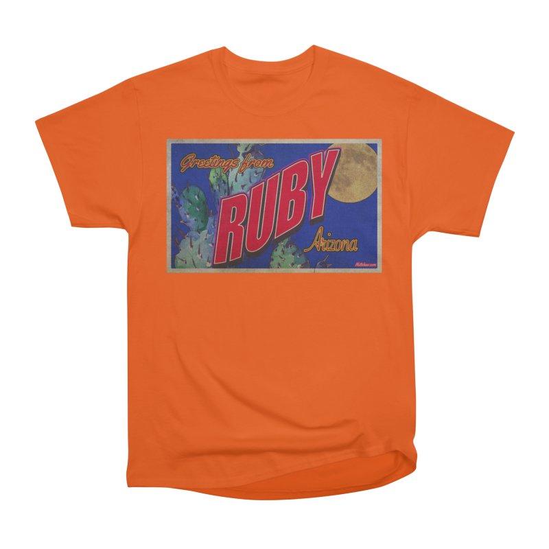 Ruby, AZ Women's Heavyweight Unisex T-Shirt by Nuttshaw Studios