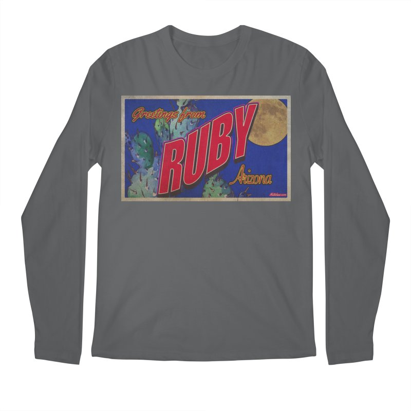Ruby, AZ Men's Regular Longsleeve T-Shirt by Nuttshaw Studios
