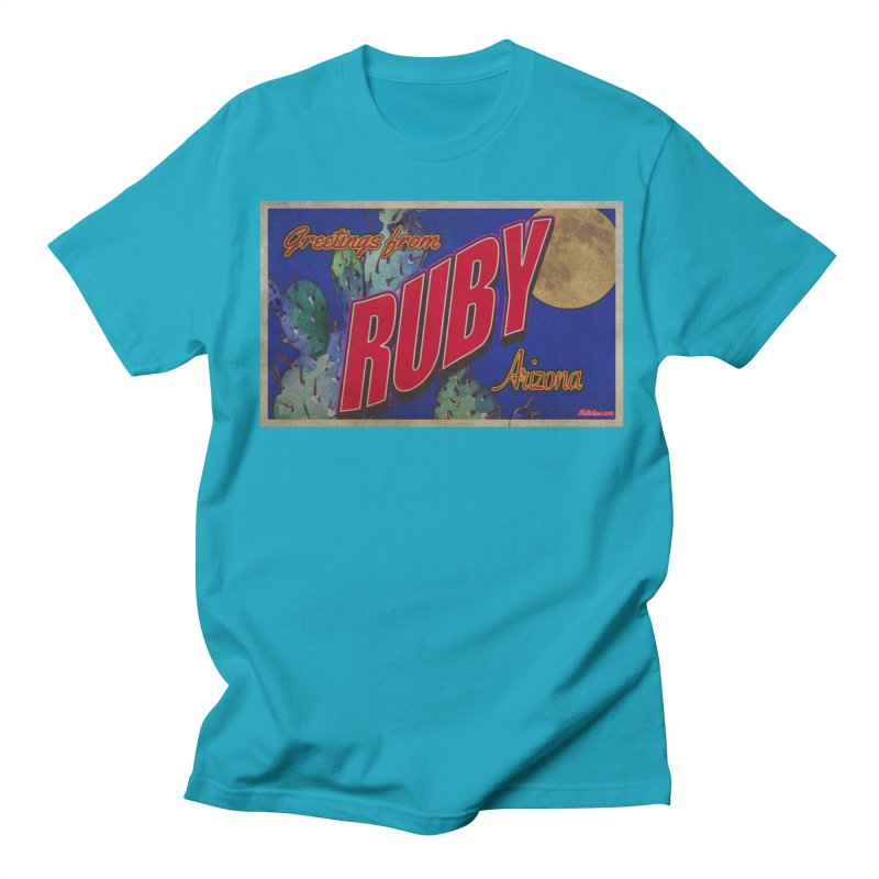 Ruby, AZ Men's T-Shirt by Nuttshaw Studios