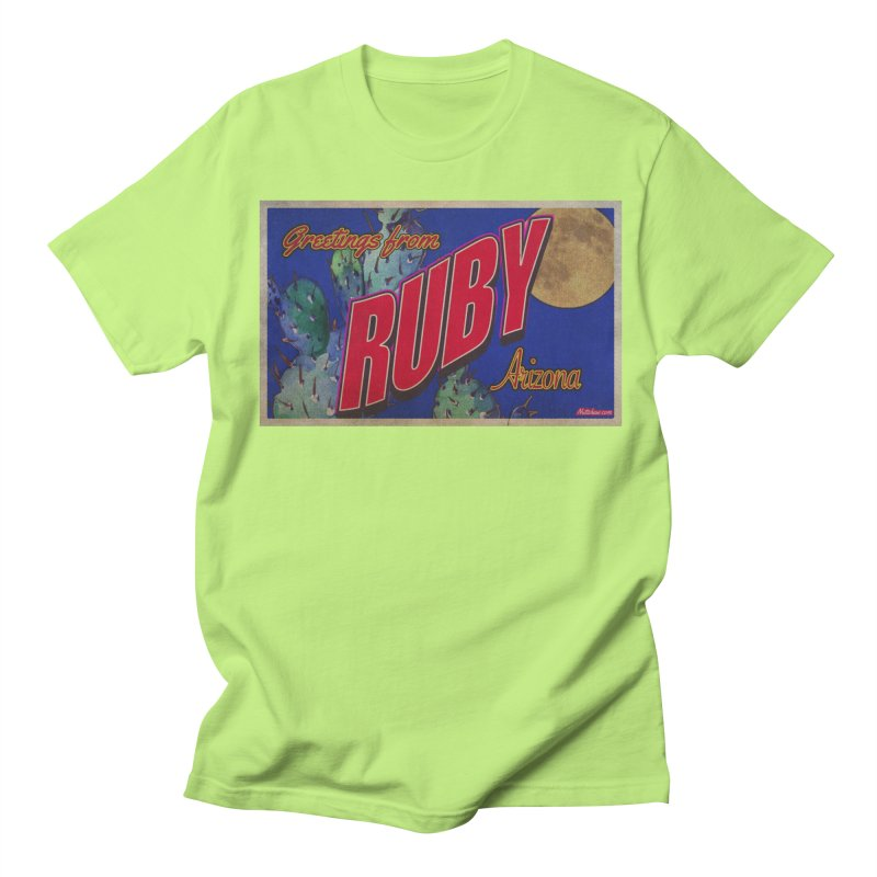 Ruby, AZ Men's Regular T-Shirt by Nuttshaw Studios