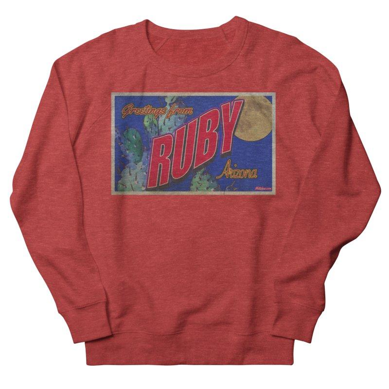 Ruby, AZ Women's French Terry Sweatshirt by Nuttshaw Studios