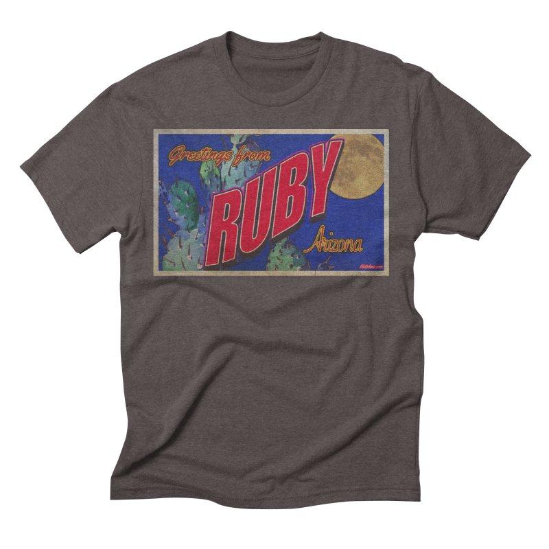 Ruby, AZ Men's Triblend T-Shirt by Nuttshaw Studios