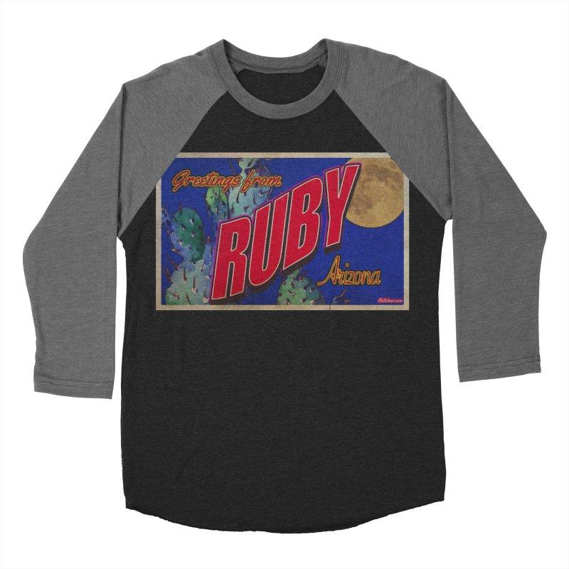 Ruby, AZ Women's Baseball Triblend Longsleeve T-Shirt by Nuttshaw Studios