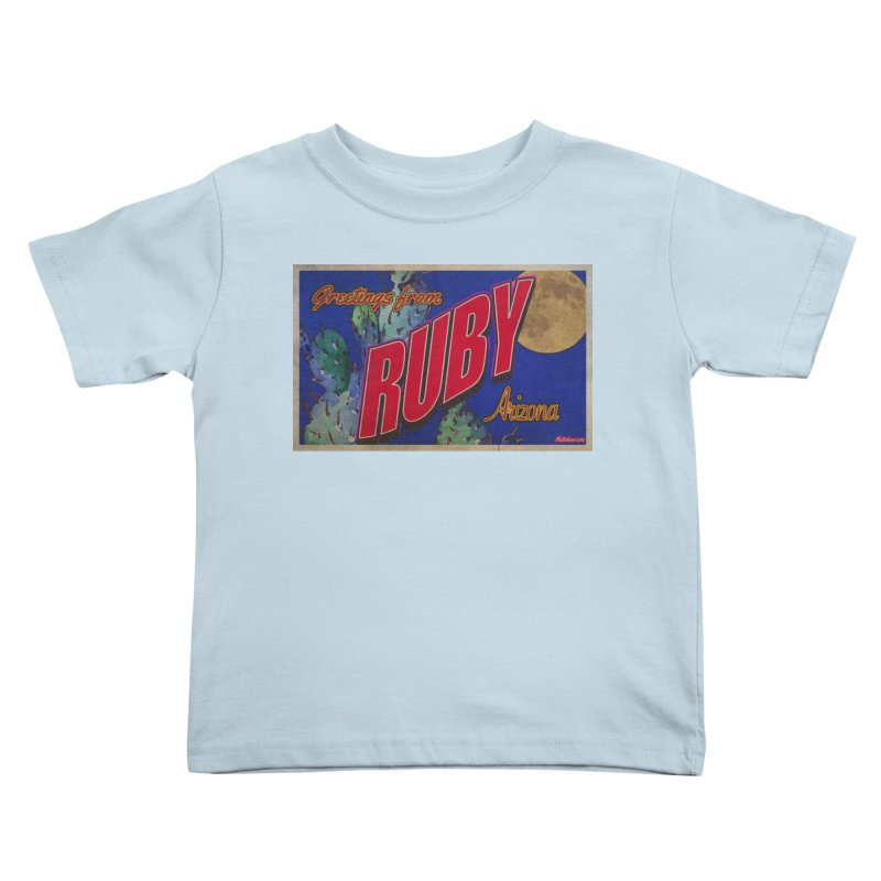 Ruby, AZ Kids Toddler T-Shirt by Nuttshaw Studios