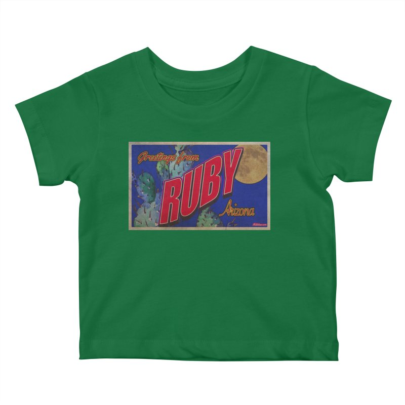 Ruby, AZ Kids Baby T-Shirt by Nuttshaw Studios