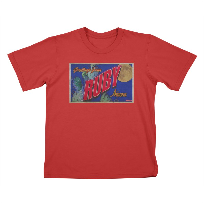 Ruby, AZ Kids T-Shirt by Nuttshaw Studios