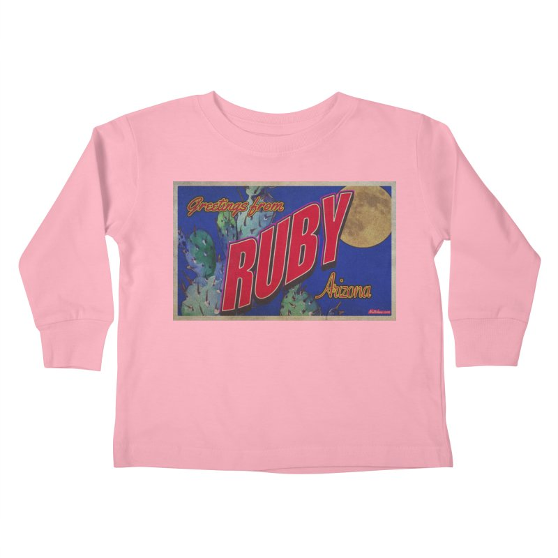 Ruby, AZ Kids Toddler Longsleeve T-Shirt by Nuttshaw Studios