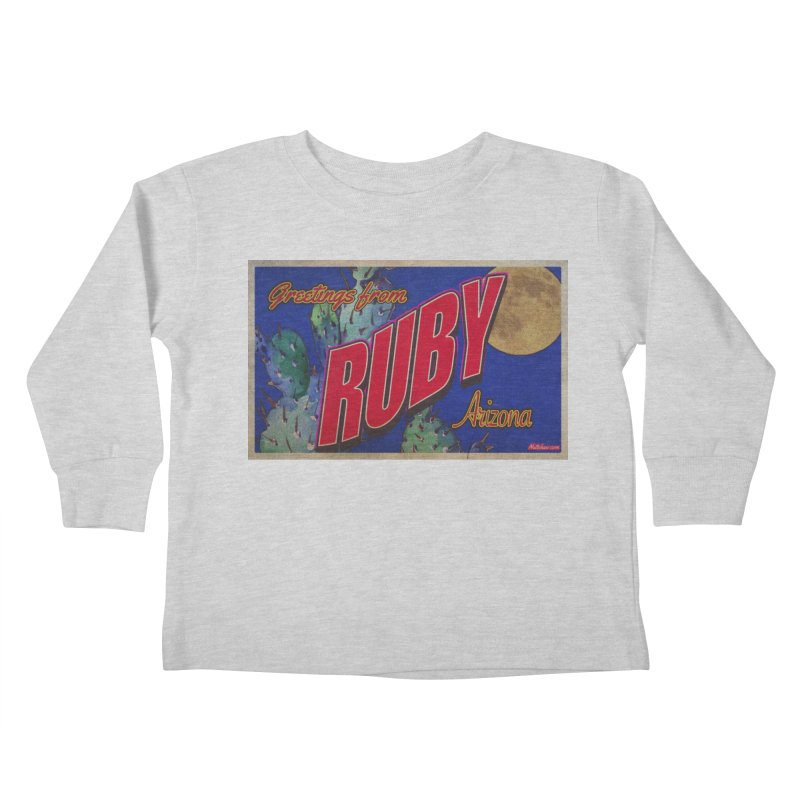 Ruby, AZ Kids Toddler Longsleeve T-Shirt by Nuttshaw Studios