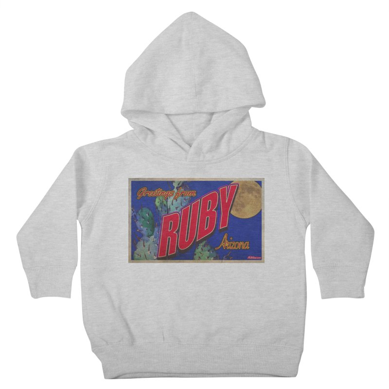Ruby, AZ Kids Toddler Pullover Hoody by Nuttshaw Studios