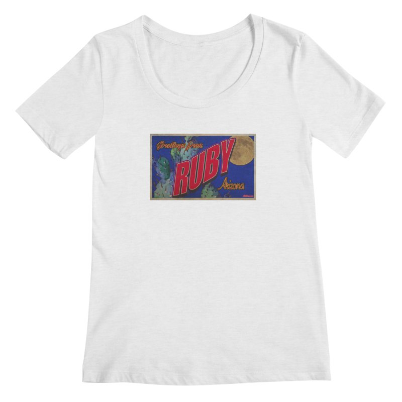 Ruby, AZ Women's Regular Scoop Neck by Nuttshaw Studios