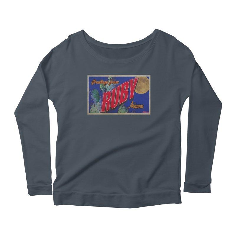 Ruby, AZ Women's Scoop Neck Longsleeve T-Shirt by Nuttshaw Studios
