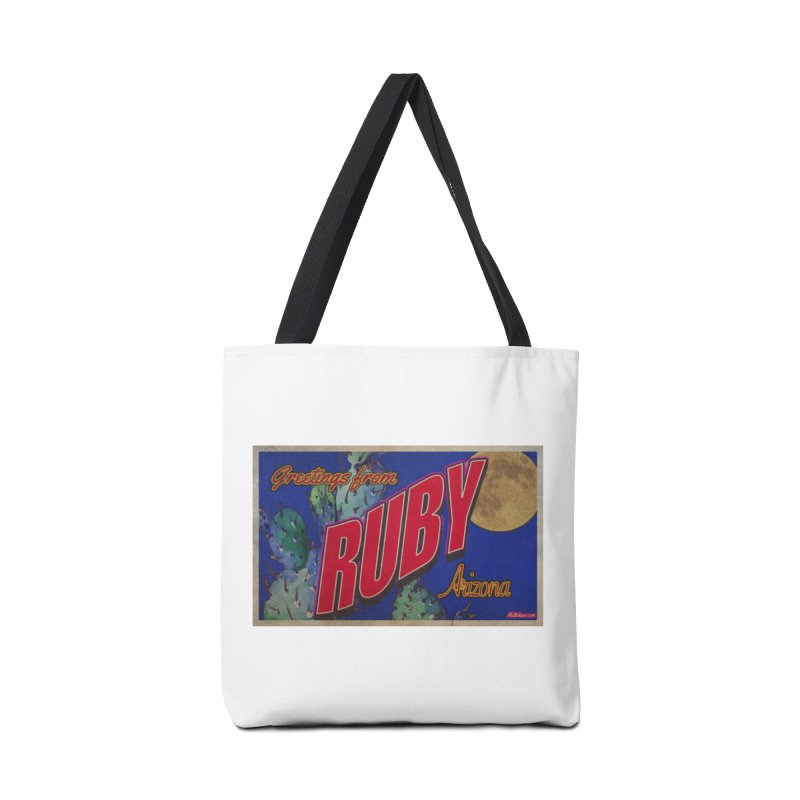 Ruby, AZ Accessories Tote Bag Bag by Nuttshaw Studios