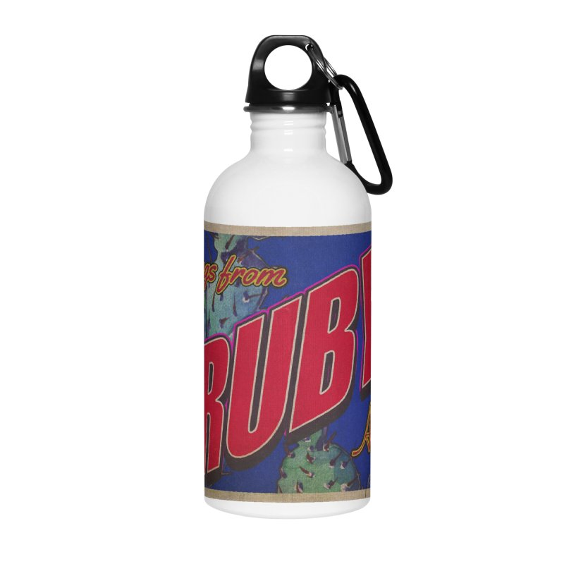 Ruby, AZ Accessories Water Bottle by Nuttshaw Studios