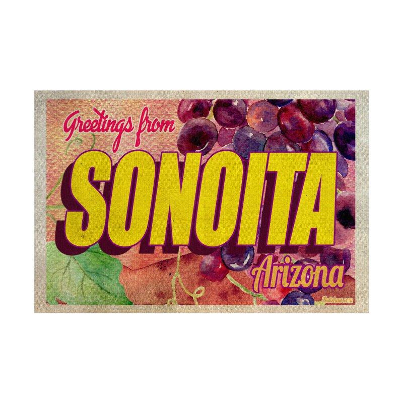 Sonoita, AZ. Men's Zip-Up Hoody by Nuttshaw Studios