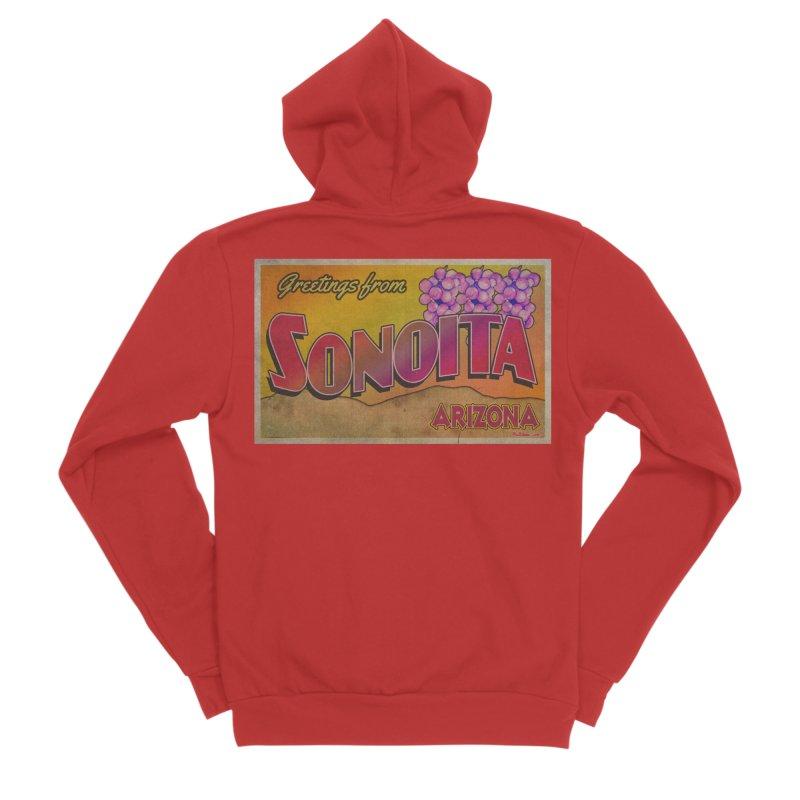 Sonoita, AZ. Women's Sponge Fleece Zip-Up Hoody by Nuttshaw Studios
