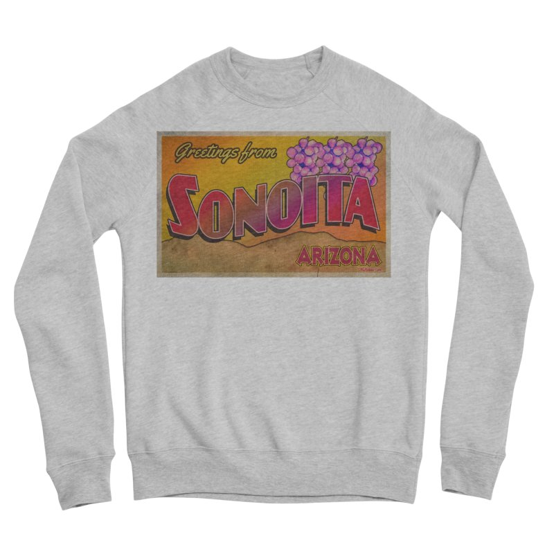 Sonoita, AZ. Men's Sponge Fleece Sweatshirt by Nuttshaw Studios