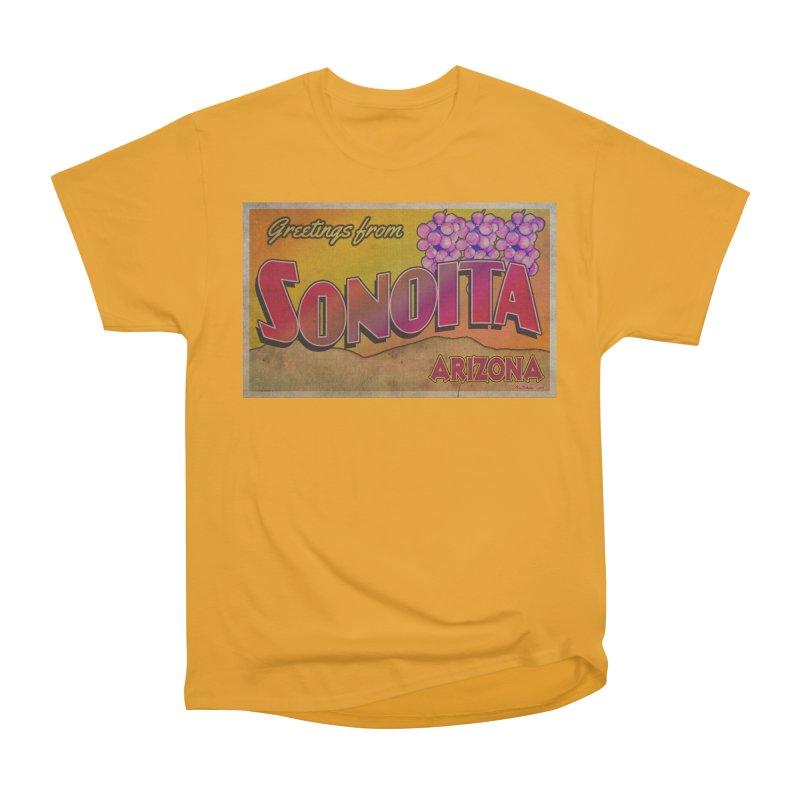 Sonoita, AZ. Women's Heavyweight Unisex T-Shirt by Nuttshaw Studios