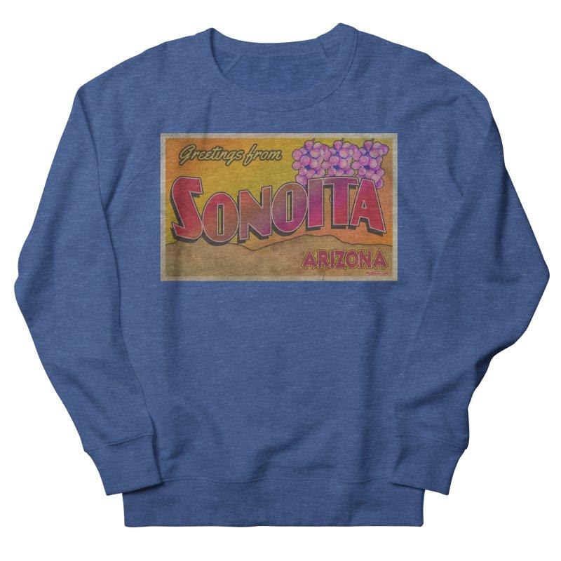 Sonoita, AZ. Women's French Terry Sweatshirt by Nuttshaw Studios