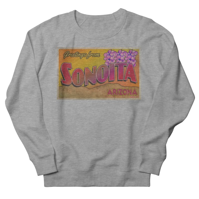 Sonoita, AZ. Men's French Terry Sweatshirt by Nuttshaw Studios