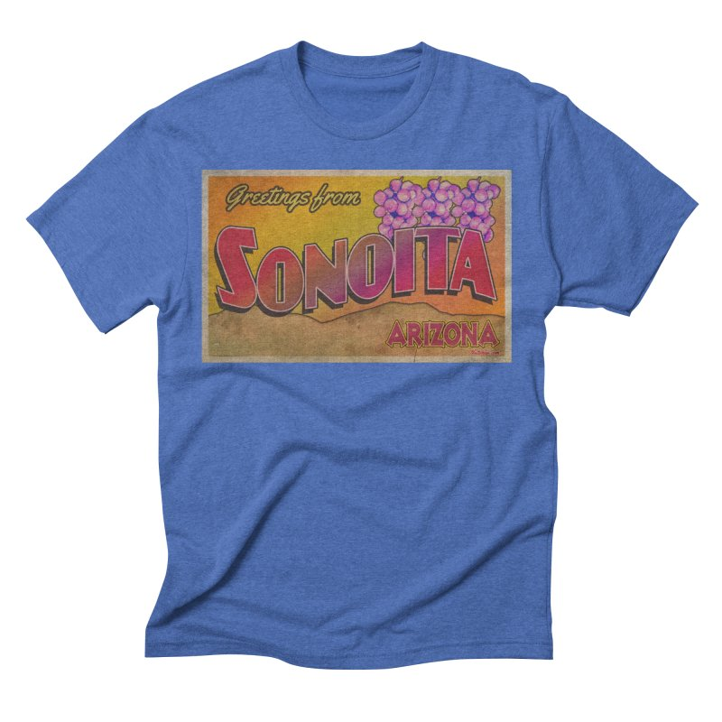 Sonoita, AZ. Men's Triblend T-Shirt by Nuttshaw Studios