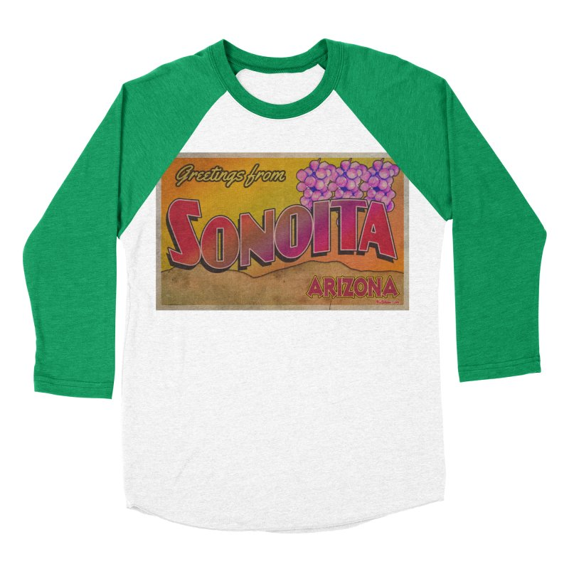 Sonoita, AZ. Women's Baseball Triblend Longsleeve T-Shirt by Nuttshaw Studios
