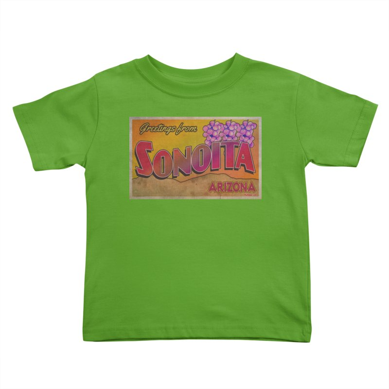 Sonoita, AZ. Kids Toddler T-Shirt by Nuttshaw Studios
