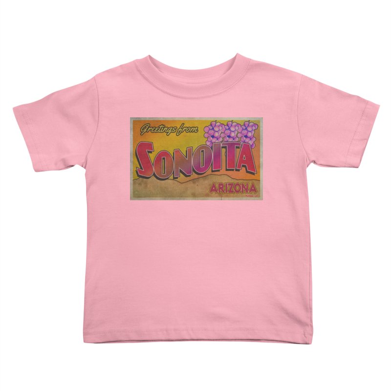 Sonoita, AZ. Kids Toddler T-Shirt by Nuttshaw Studios