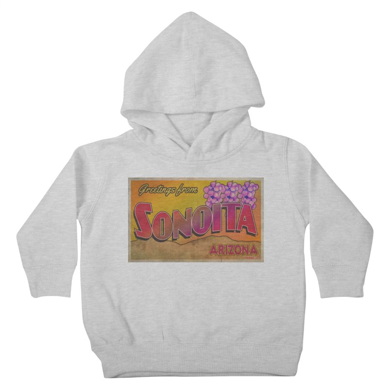 Sonoita, AZ. Kids Toddler Pullover Hoody by Nuttshaw Studios