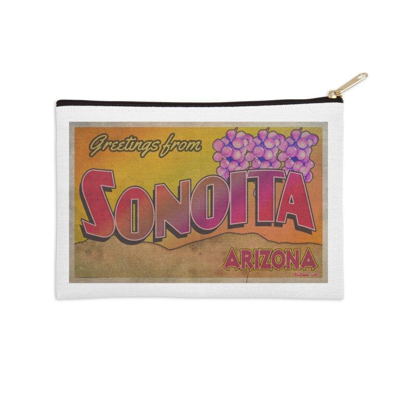 Sonoita, AZ. Accessories Zip Pouch by Nuttshaw Studios