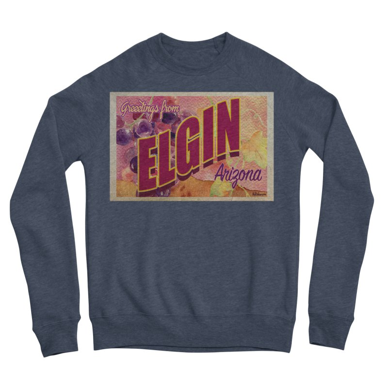 Elgin, AZ. Women's Sponge Fleece Sweatshirt by Nuttshaw Studios